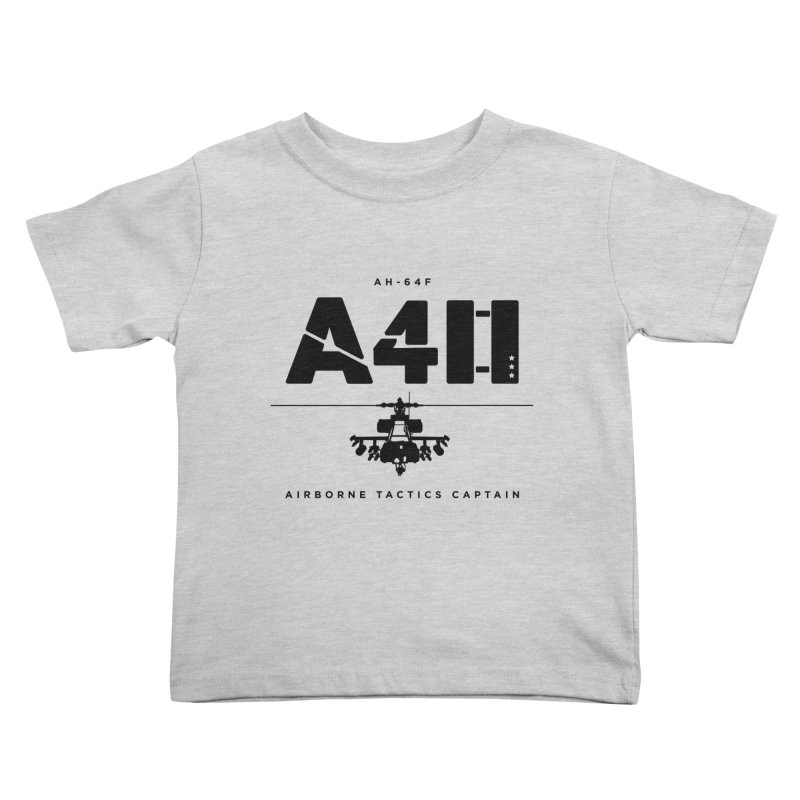Apache AH-64F Helicopter Tactical Assault Pilot Kids Toddler T-Shirt by frippdesign's Artist Shop