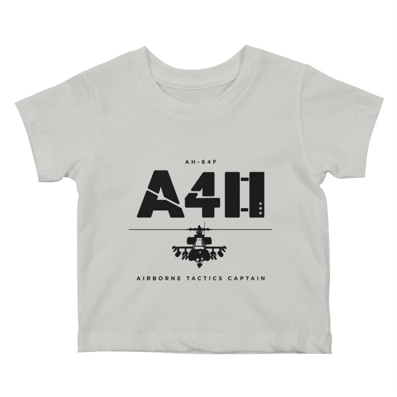 Apache AH-64F Helicopter Tactical Assault Pilot Kids Baby T-Shirt by frippdesign's Artist Shop