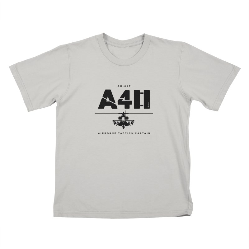 Apache AH-64F Helicopter Tactical Assault Pilot Kids T-Shirt by frippdesign's Artist Shop