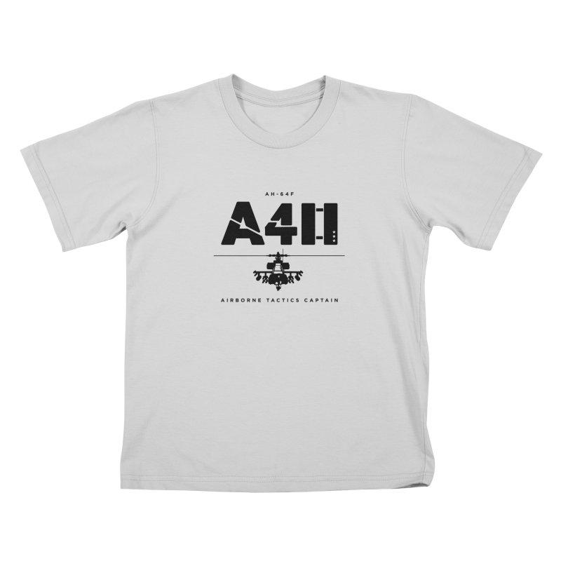Apache AH-64F Helicopter Tactical Assault Pilot Kids T-Shirt by frippdesign's Artist Shop