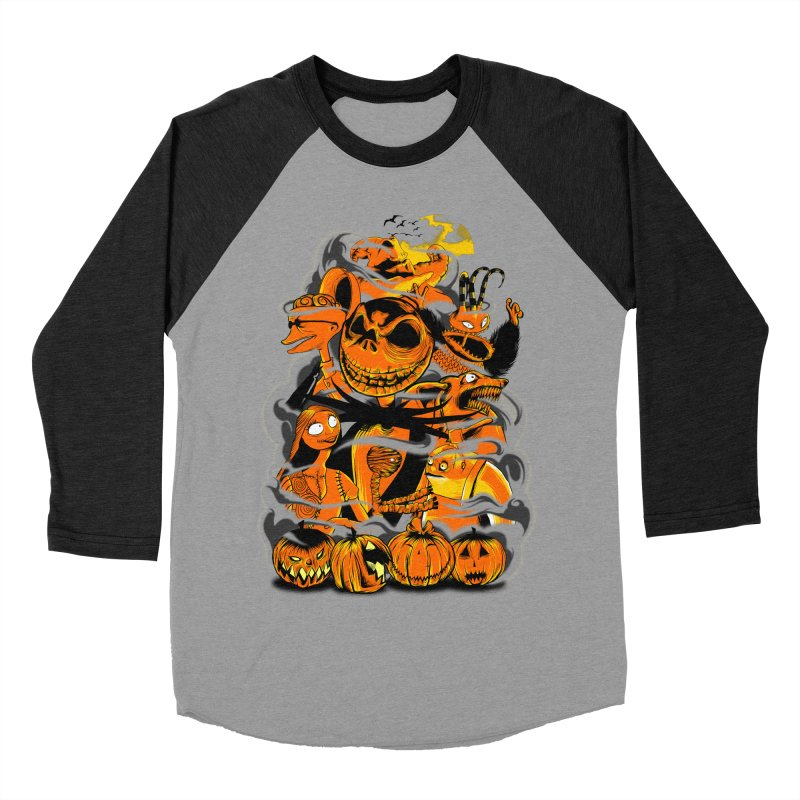 ATMOSFEARS Women's Baseball Triblend Longsleeve T-Shirt by frogafro's Artist Shop