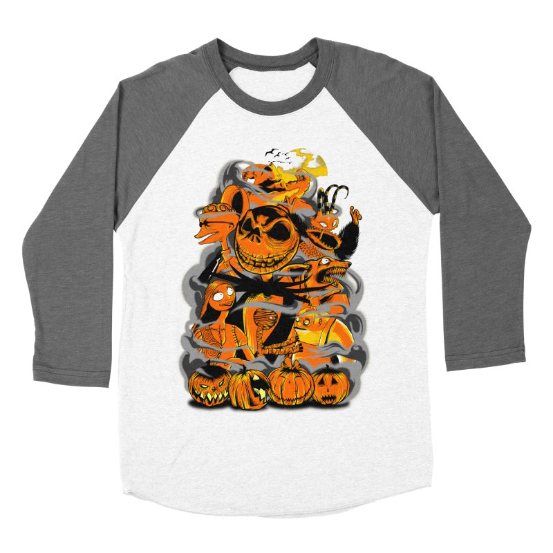 ATMOSFEARS Men's Baseball Triblend Longsleeve T-Shirt by frogafro's Artist Shop