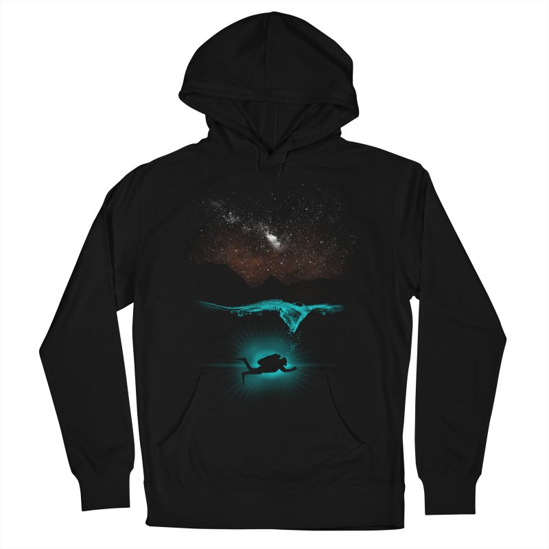 ABOVE AND BENEATH Women's Pullover Hoody by frogafro's Artist Shop