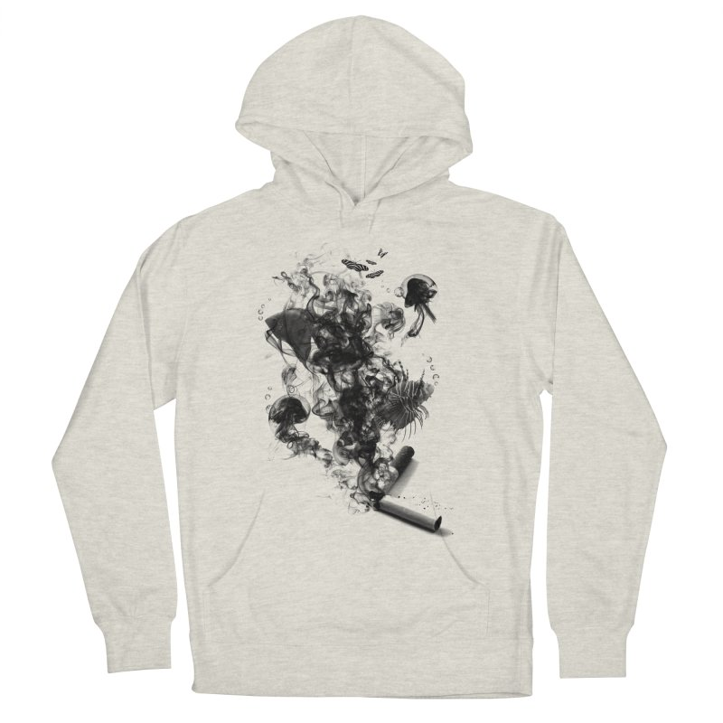BREAKING THE HABIT Women's Pullover Hoody by frogafro's Artist Shop