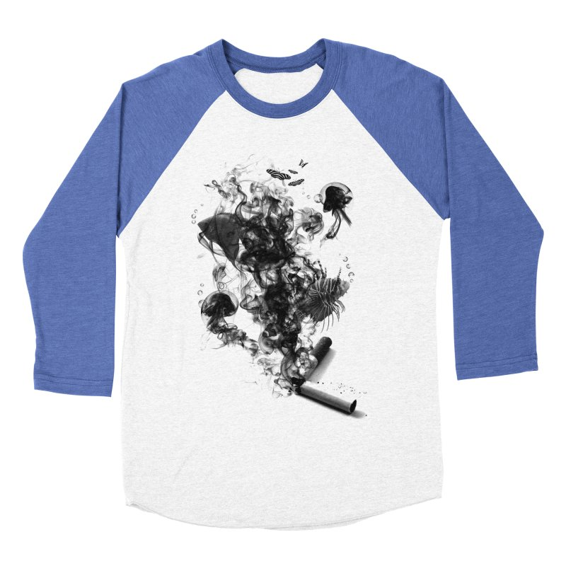 BREAKING THE HABIT Women's Baseball Triblend T-Shirt by frogafro's Artist Shop