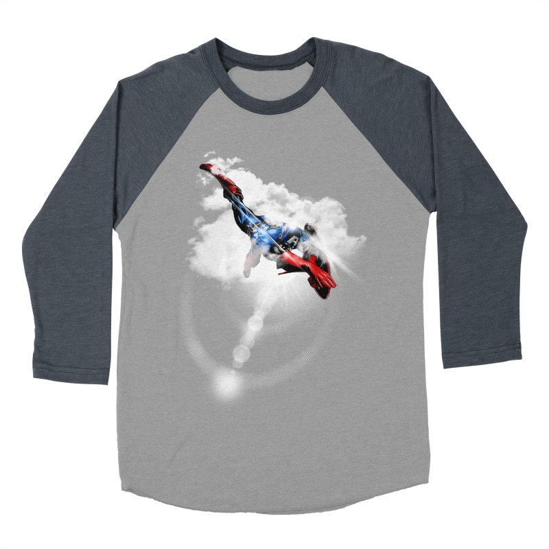 ENDER WILL SAVE US ALL Men's Baseball Triblend T-Shirt by frogafro's Artist Shop