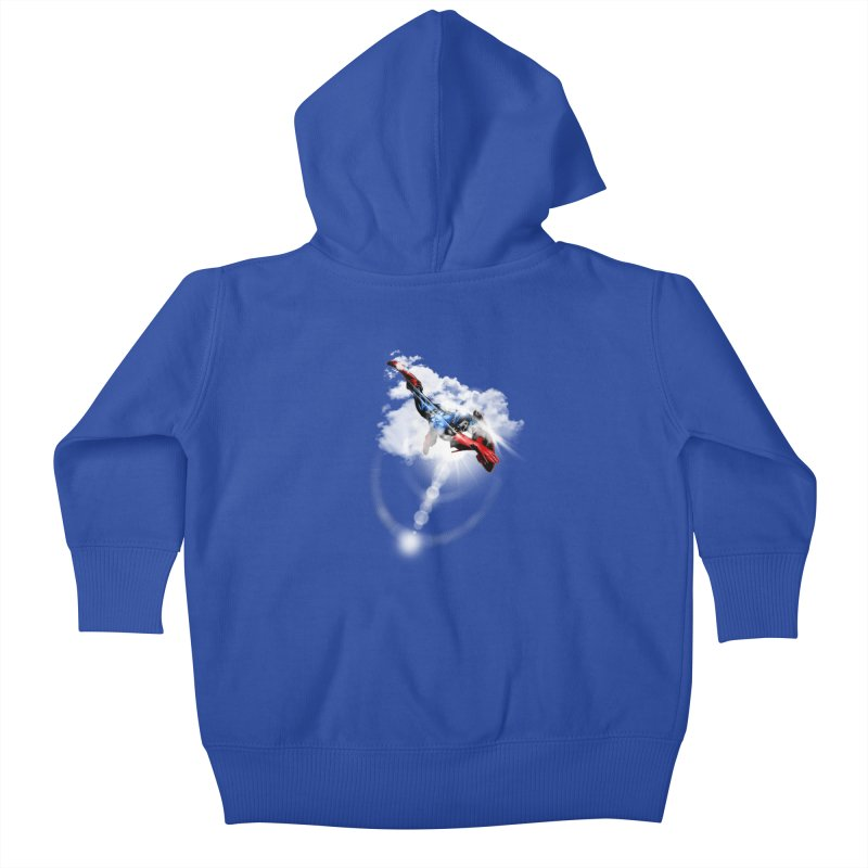 ENDER WILL SAVE US ALL Kids Baby Zip-Up Hoody by frogafro's Artist Shop