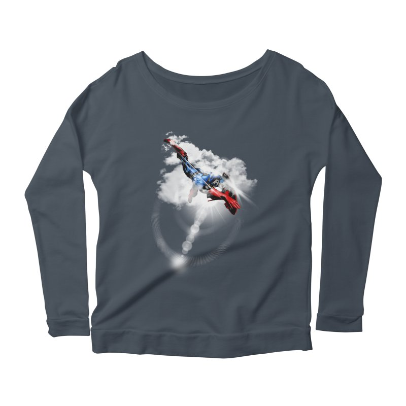ENDER WILL SAVE US ALL Women's Scoop Neck Longsleeve T-Shirt by frogafro's Artist Shop