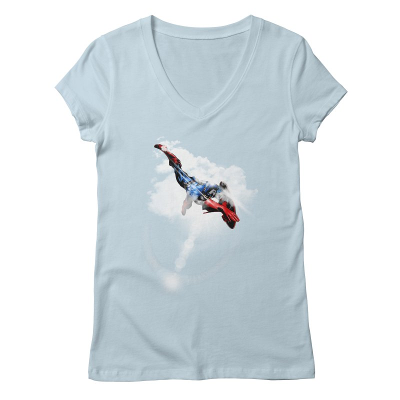 ENDER WILL SAVE US ALL Women's V-Neck by frogafro's Artist Shop