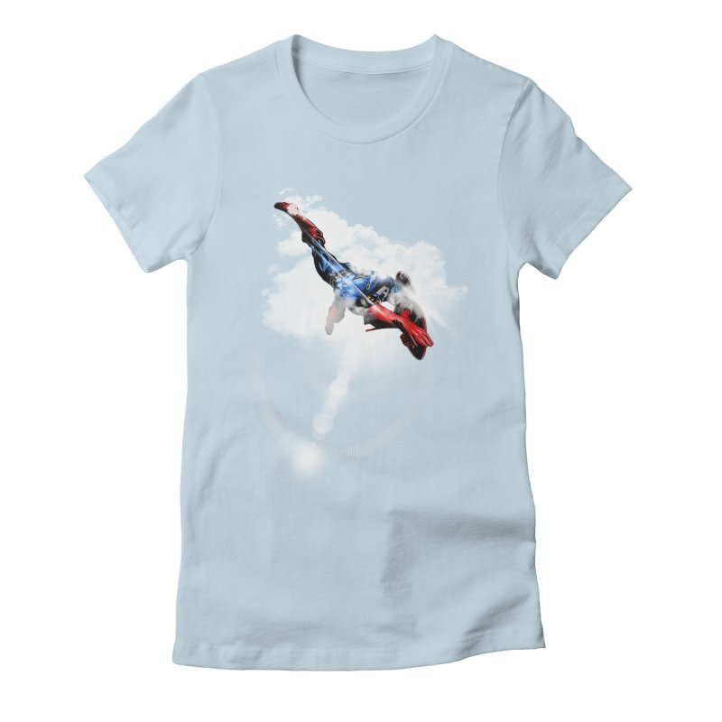ENDER WILL SAVE US ALL Women's Fitted T-Shirt by frogafro's Artist Shop