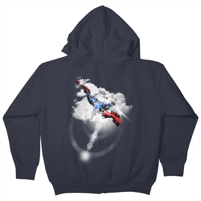 ENDER WILL SAVE US ALL Kids Zip-Up Hoody by frogafro's Artist Shop