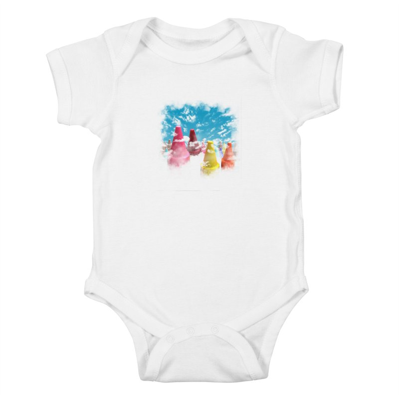 DREAM ON Kids Baby Bodysuit by frogafro's Artist Shop