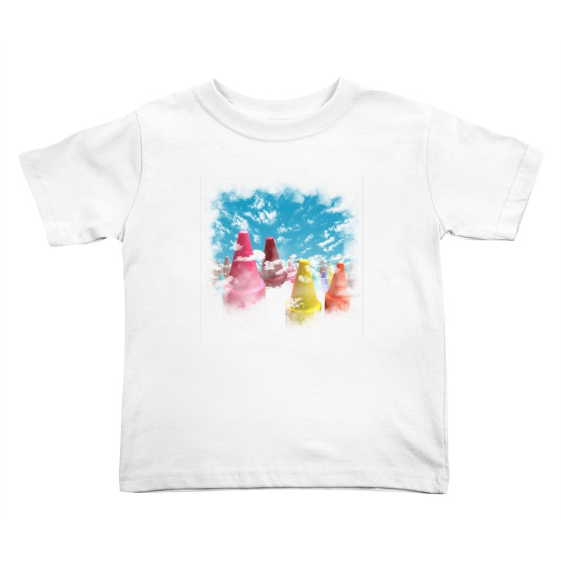 DREAM ON Kids Toddler T-Shirt by frogafro's Artist Shop