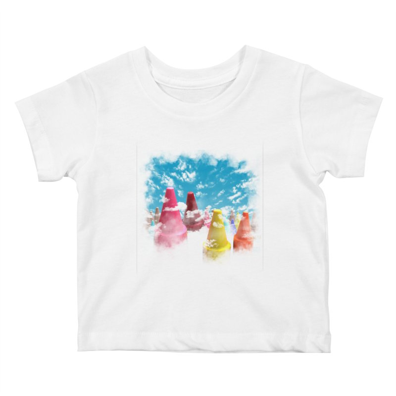 DREAM ON Kids Baby T-Shirt by frogafro's Artist Shop