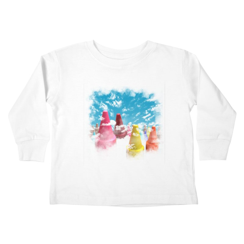 DREAM ON Kids Toddler Longsleeve T-Shirt by frogafro's Artist Shop