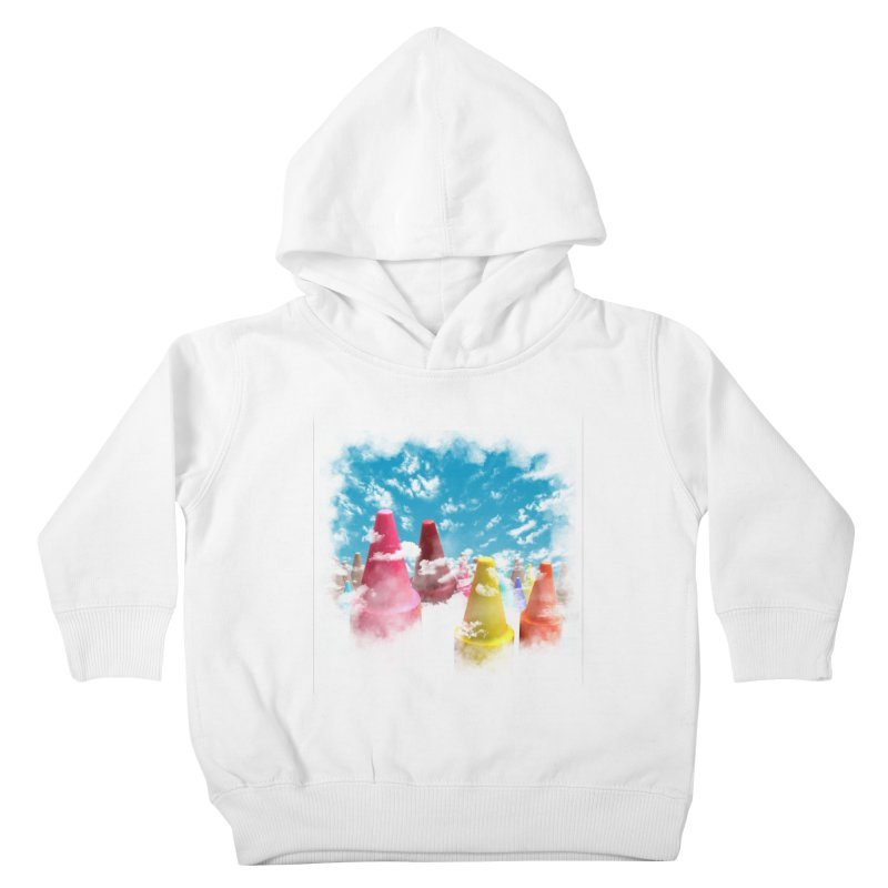 DREAM ON Kids Toddler Pullover Hoody by frogafro's Artist Shop