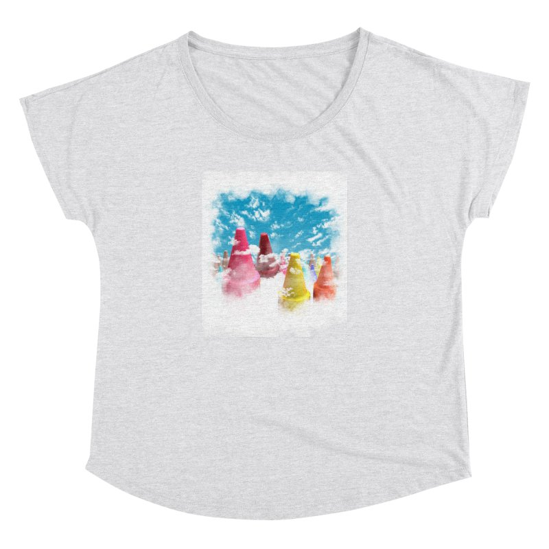 DREAM ON Women's Dolman by frogafro's Artist Shop