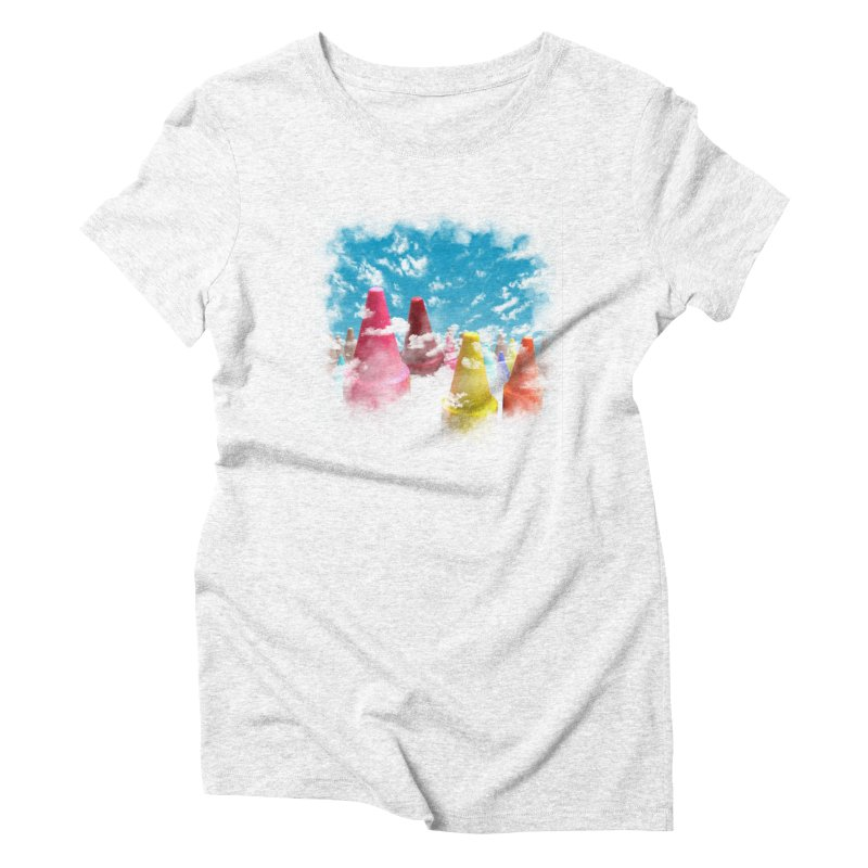 DREAM ON Women's Triblend T-shirt by frogafro's Artist Shop