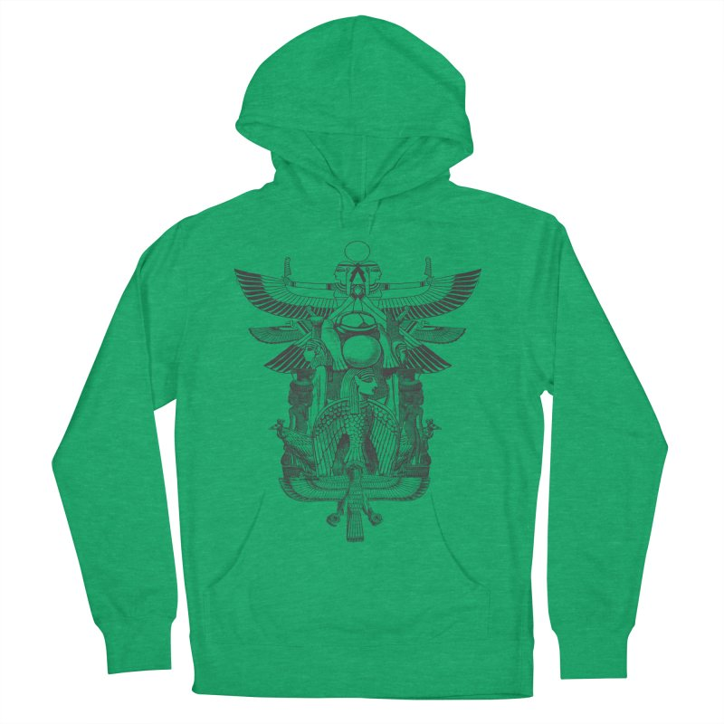 UNIFIED KINGDOM Women's Pullover Hoody by frogafro's Artist Shop