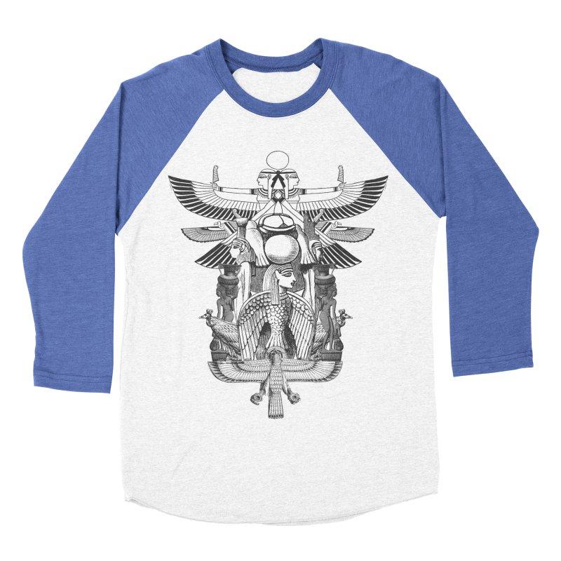UNIFIED KINGDOM Women's Baseball Triblend Longsleeve T-Shirt by frogafro's Artist Shop