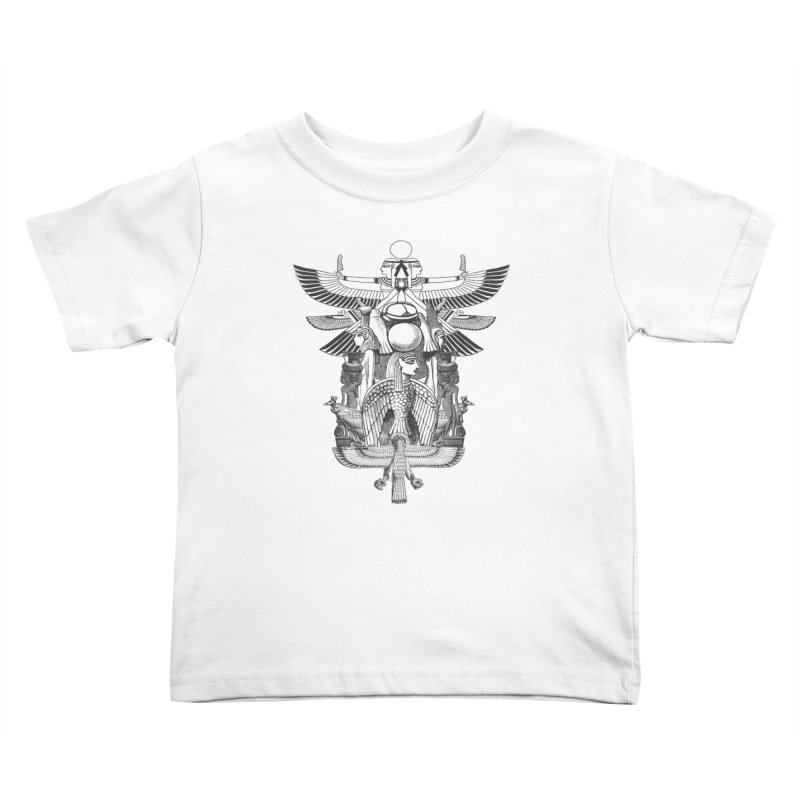 UNIFIED KINGDOM Kids Toddler T-Shirt by frogafro's Artist Shop