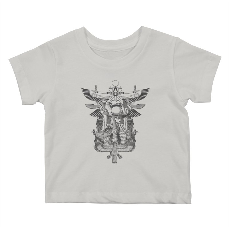 UNIFIED KINGDOM Kids Baby T-Shirt by frogafro's Artist Shop
