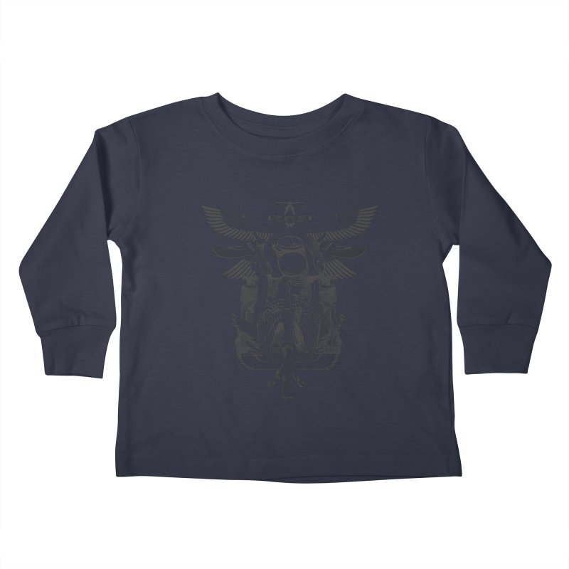 UNIFIED KINGDOM Kids Toddler Longsleeve T-Shirt by frogafro's Artist Shop