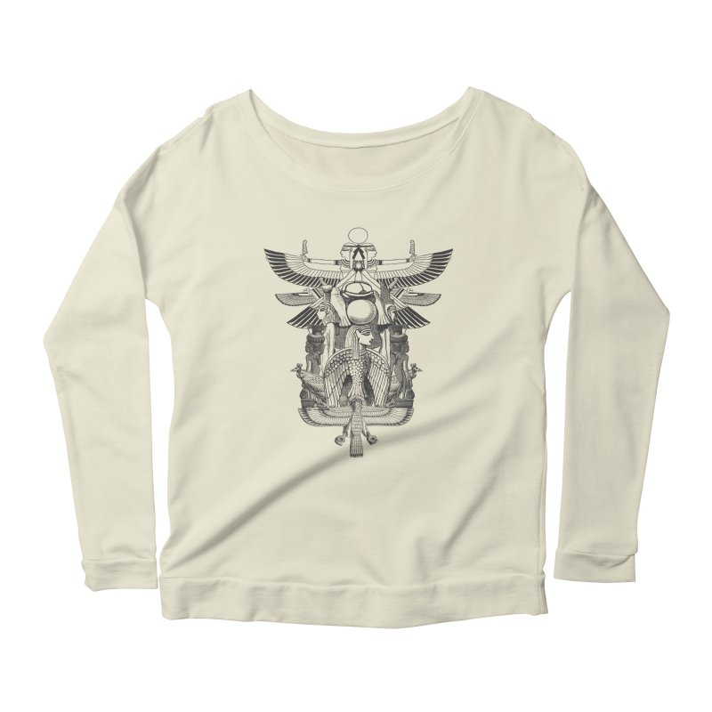 UNIFIED KINGDOM Women's Longsleeve Scoopneck  by frogafro's Artist Shop