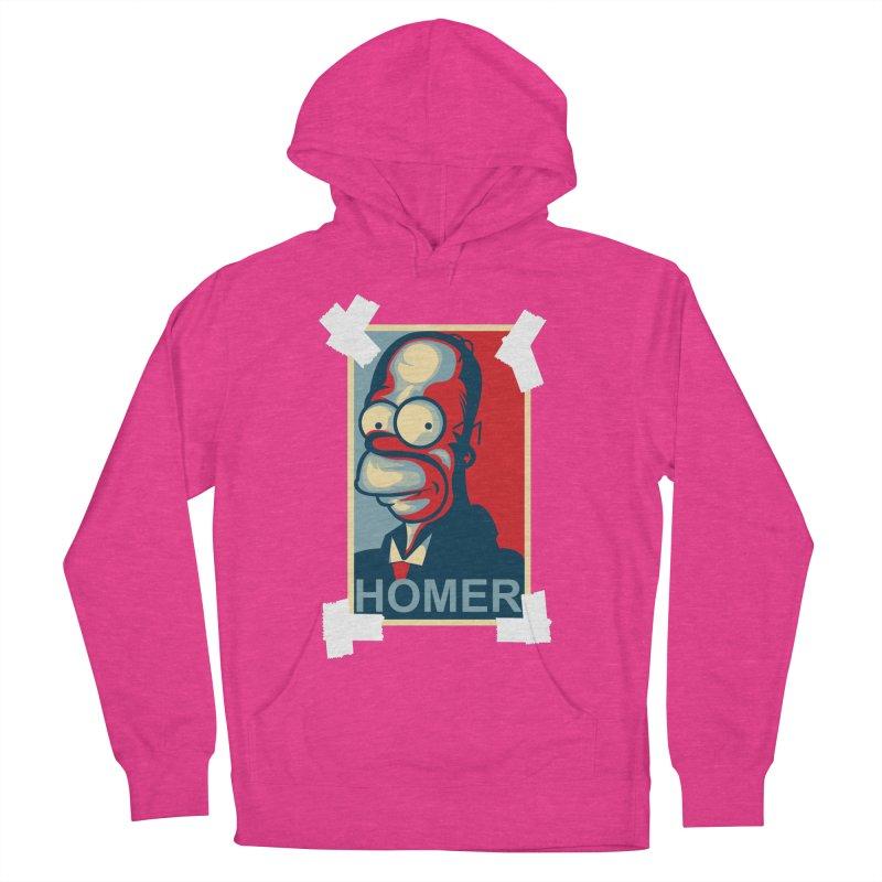 HOMER Women's Pullover Hoody by frogafro's Artist Shop
