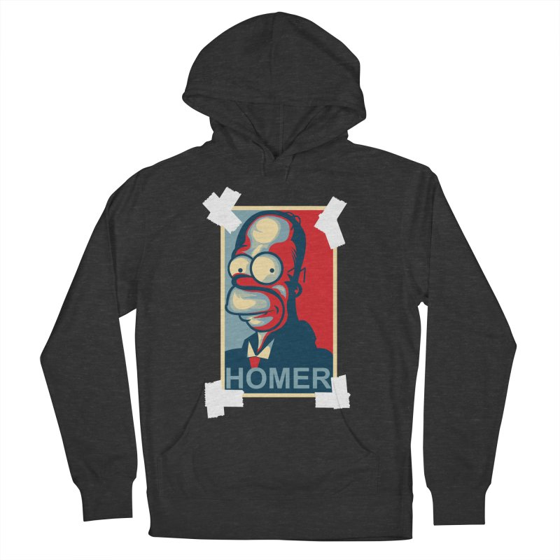 HOMER Men's Pullover Hoody by frogafro's Artist Shop