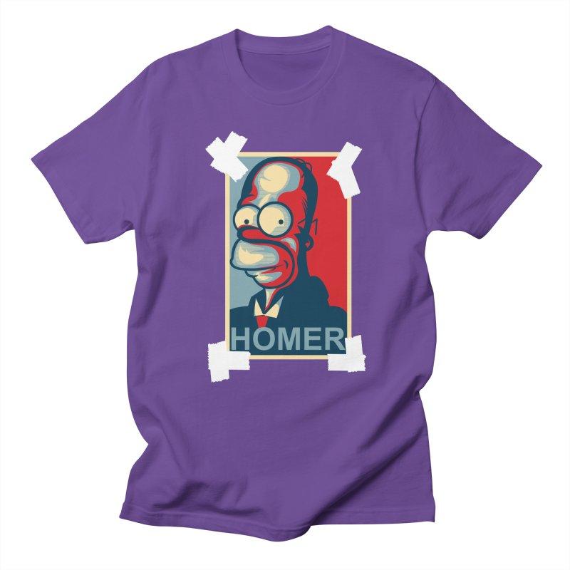 HOMER Men's T-shirt by frogafro's Artist Shop