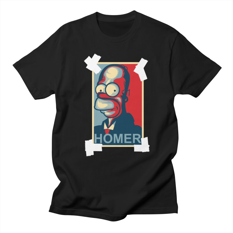 HOMER Men's T-shirt by frogafro's Artist Shop