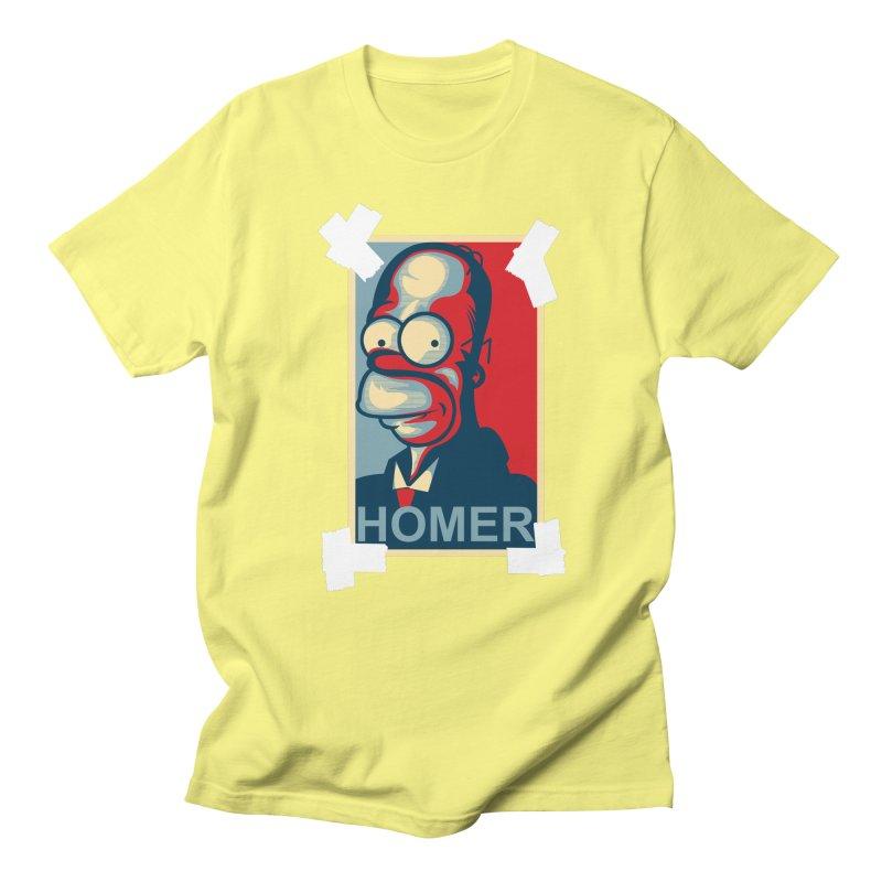 HOMER Men's Regular T-Shirt by frogafro's Artist Shop