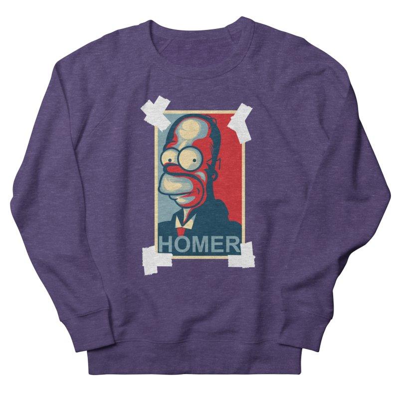 HOMER Women's French Terry Sweatshirt by frogafro's Artist Shop