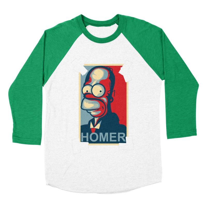 HOMER Women's Baseball Triblend T-Shirt by frogafro's Artist Shop