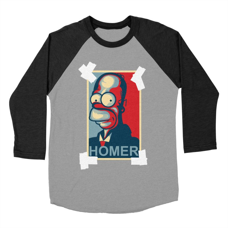 HOMER Women's Baseball Triblend T-Shirt by frogafro's Artist Shop