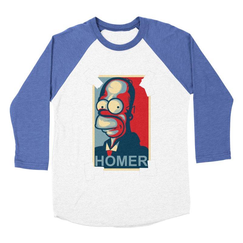 HOMER Men's Baseball Triblend T-Shirt by frogafro's Artist Shop