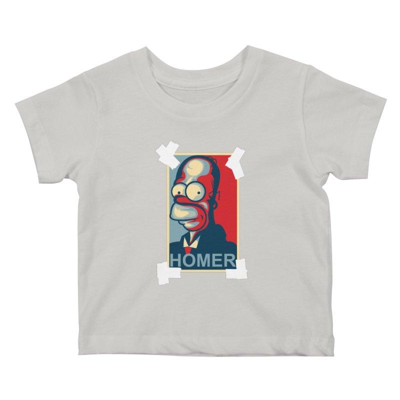 HOMER Kids Baby T-Shirt by frogafro's Artist Shop