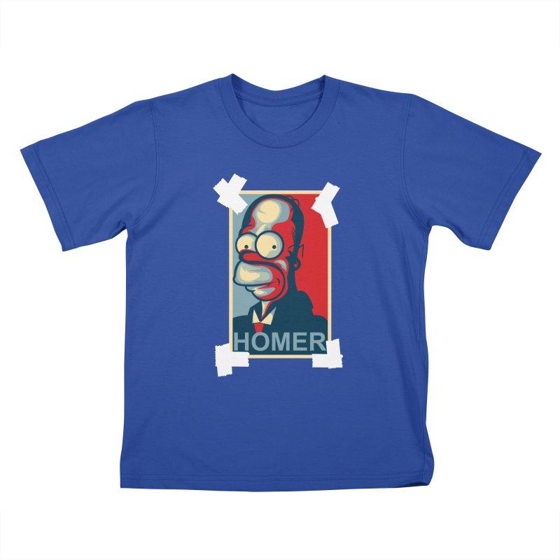 HOMER Kids T-Shirt by frogafro's Artist Shop