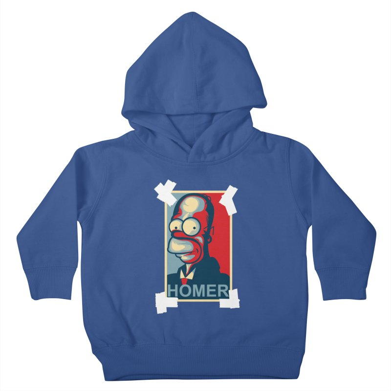 HOMER Kids Toddler Pullover Hoody by frogafro's Artist Shop