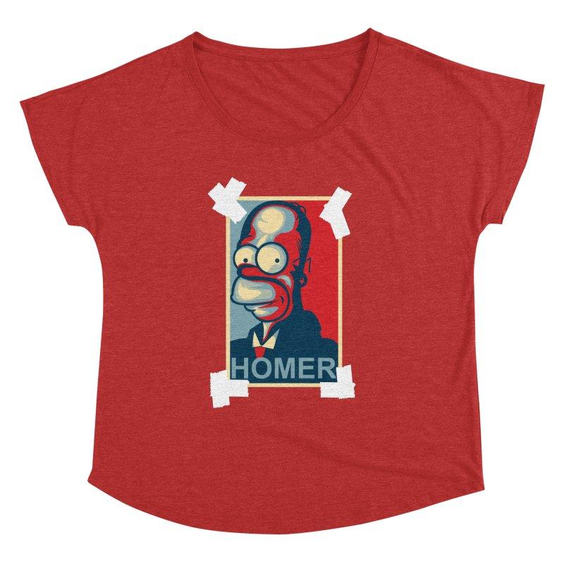 HOMER Women's Dolman by frogafro's Artist Shop