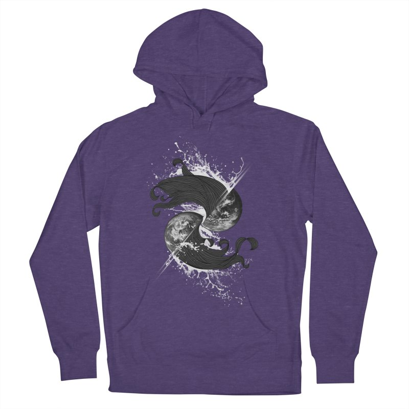 WORLD ENDS IN WHISPER NOT BANGS Men's Pullover Hoody by frogafro's Artist Shop
