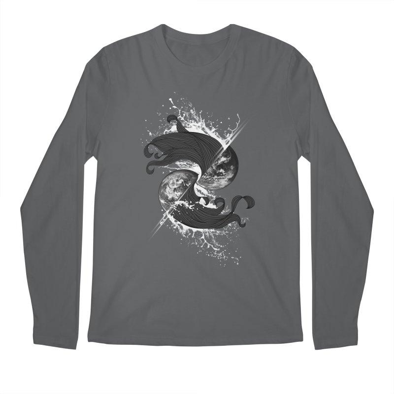 WORLD ENDS IN WHISPER NOT BANGS Men's Regular Longsleeve T-Shirt by frogafro's Artist Shop