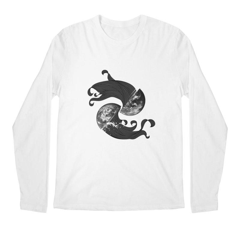 WORLD ENDS IN WHISPER NOT BANGS Men's Longsleeve T-Shirt by frogafro's Artist Shop
