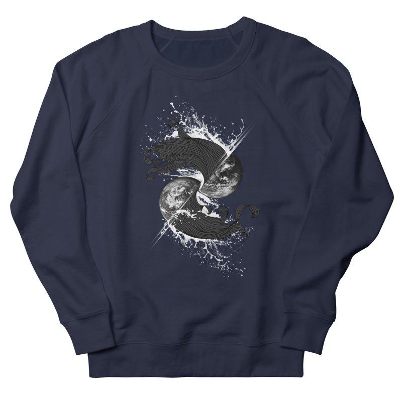 WORLD ENDS IN WHISPER NOT BANGS Men's Sweatshirt by frogafro's Artist Shop
