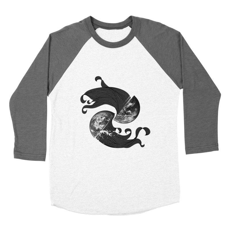 WORLD ENDS IN WHISPER NOT BANGS Women's Baseball Triblend T-Shirt by frogafro's Artist Shop