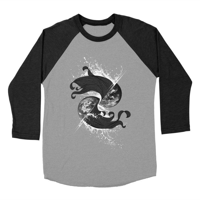 WORLD ENDS IN WHISPER NOT BANGS Men's Baseball Triblend T-Shirt by frogafro's Artist Shop