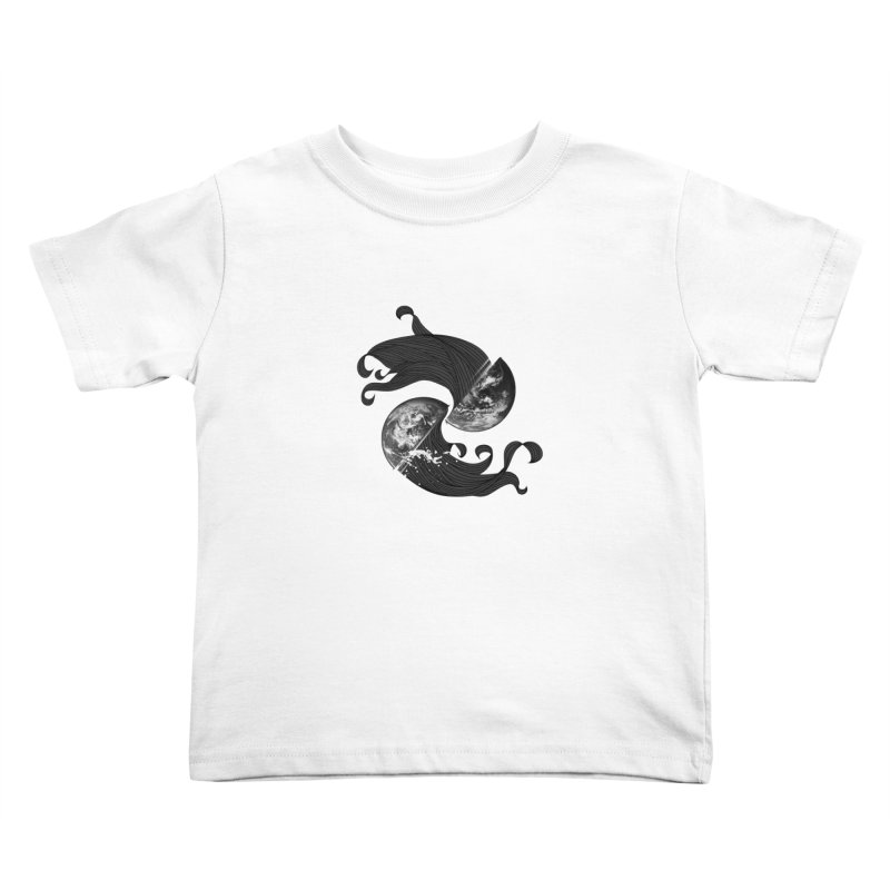 WORLD ENDS IN WHISPER NOT BANGS Kids Toddler T-Shirt by frogafro's Artist Shop
