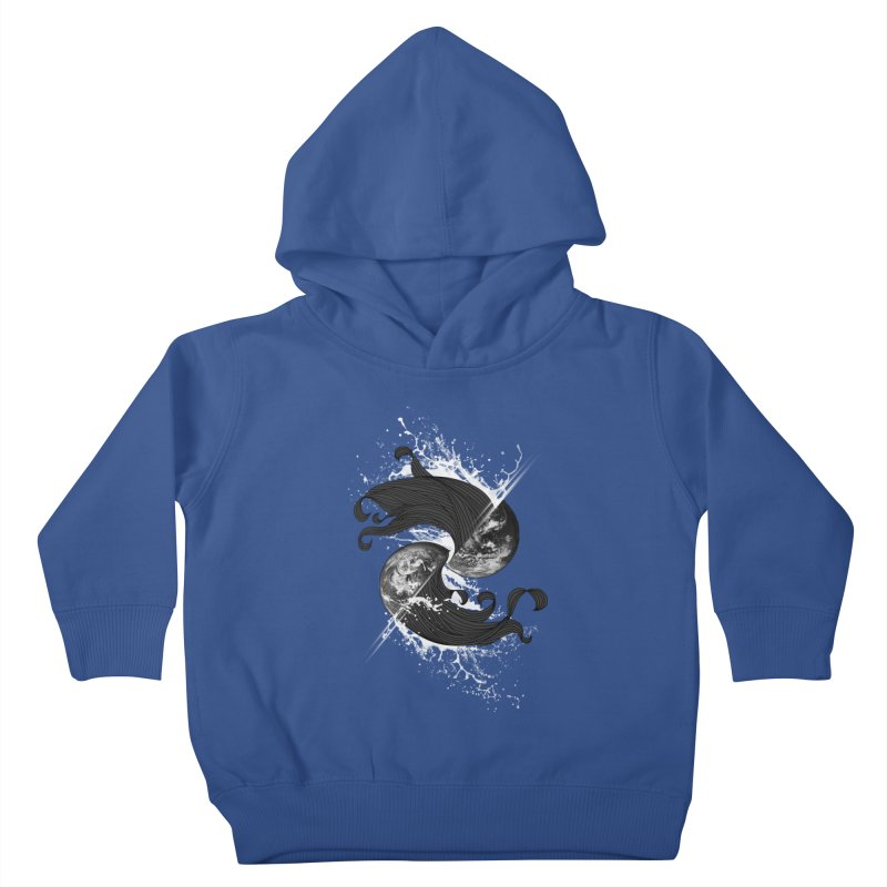 WORLD ENDS IN WHISPER NOT BANGS Kids Toddler Pullover Hoody by frogafro's Artist Shop
