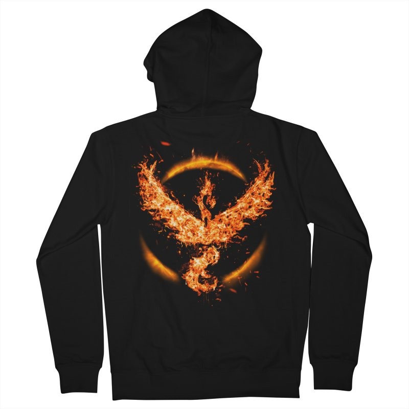 TEAM VALOR Men's French Terry Zip-Up Hoody by frogafro's Artist Shop